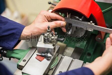 Handen kabel technologie Stockfoto © wavebreak_media