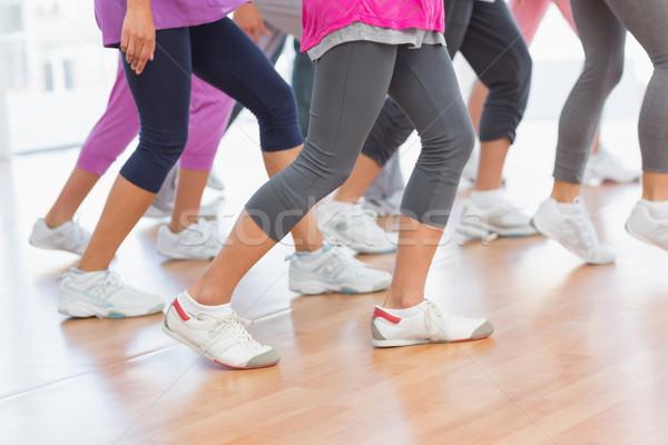 Basso sezione fitness classe pilates esercizio Foto d'archivio © wavebreak_media