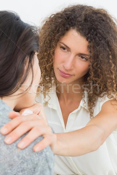 Therapist comforting her crying patient  Stock photo © wavebreak_media