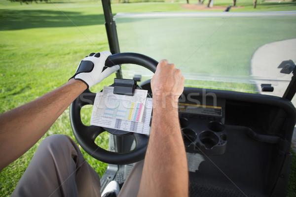 Golfa jazdy golf naprzód golf Zdjęcia stock © wavebreak_media