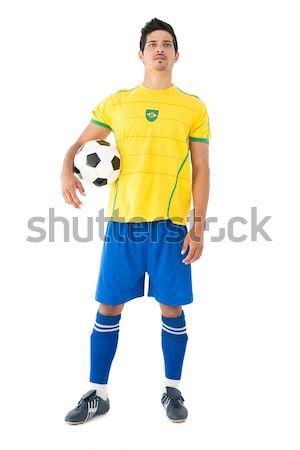 Voetballer witte voetbal mannelijke voetbal Stockfoto © wavebreak_media