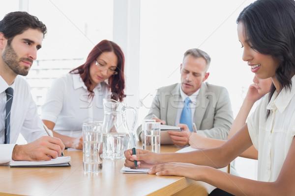Business team in a meeting Stock photo © wavebreak_media