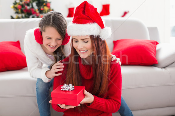 mutter tochter weihnachten geschenk home stock. Black Bedroom Furniture Sets. Home Design Ideas
