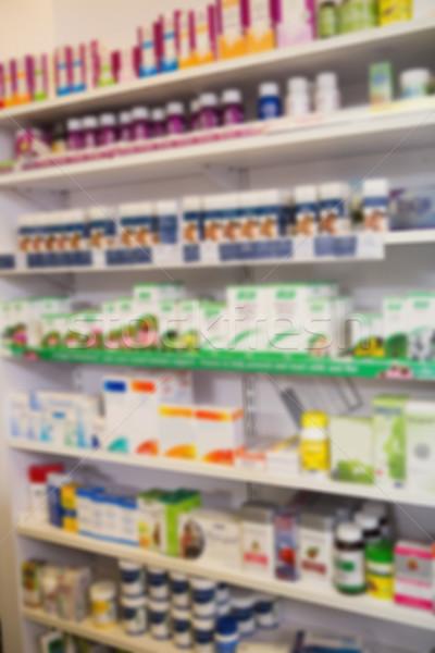 Półki narkotyków apteki medycznych muzyka Zdjęcia stock © wavebreak_media
