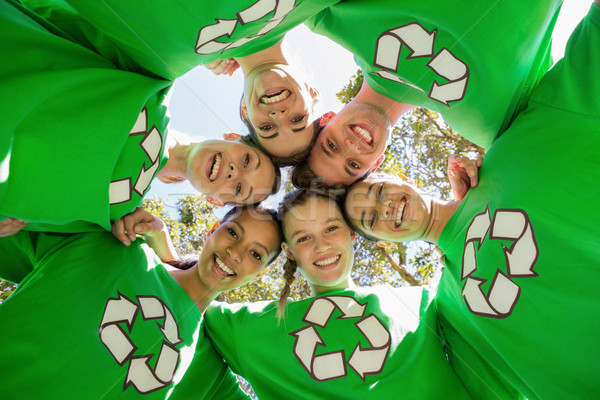 Environmental activists smiling at camera Stock photo © wavebreak_media