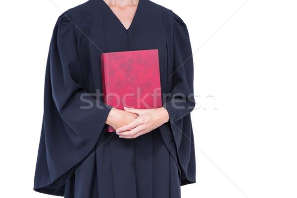 A lawyer holding law code  Stock photo © wavebreak_media