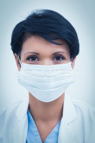 Feminino dentista máscara cirúrgica retrato trabalho Foto stock © wavebreak_media