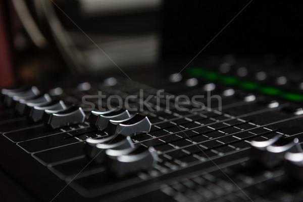 Soar batedeira música alto-falante Foto stock © wavebreak_media