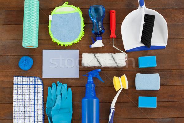 Set of cleaning equipment Stock photo © wavebreak_media