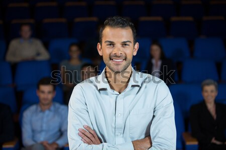 Business executive standing with arms crossed Stock photo © wavebreak_media