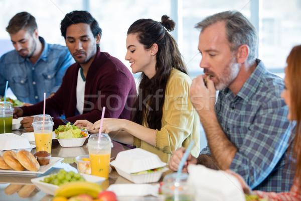 創意 業務團隊 餐 辦公室 業務 男子 商業照片 © wavebreak_media