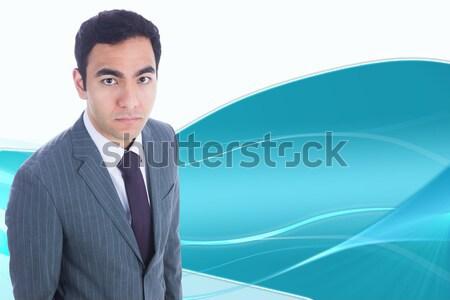 Portrait of a serious young businessman  Stock photo © wavebreak_media