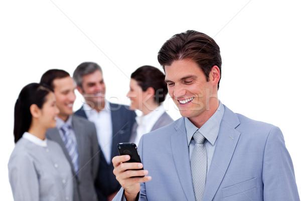 молодые бизнесмен Постоянный отдельно команда Сток-фото © wavebreak_media