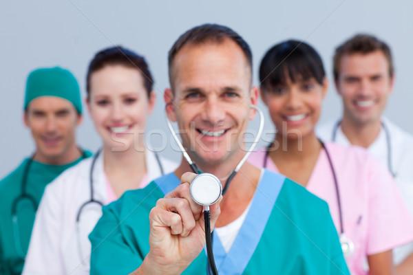 Portrait of an enthusiastic medical team Stock photo © wavebreak_media