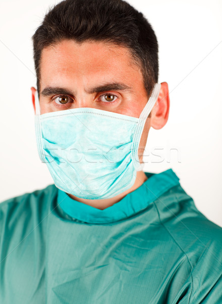 Surgeon with mask ready to work Stock photo © wavebreak_media