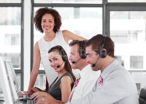 Női menedzser vásár képviselő csapatmunka nő Stock fotó © wavebreak_media