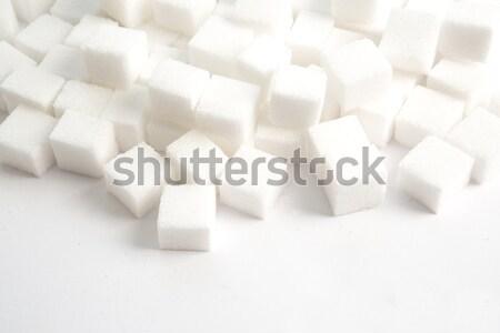 Sugar lumps stacked Stock photo © wavebreak_media