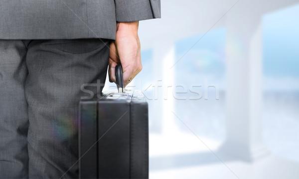 изображение бизнесмен портфель ярко Сток-фото © wavebreak_media