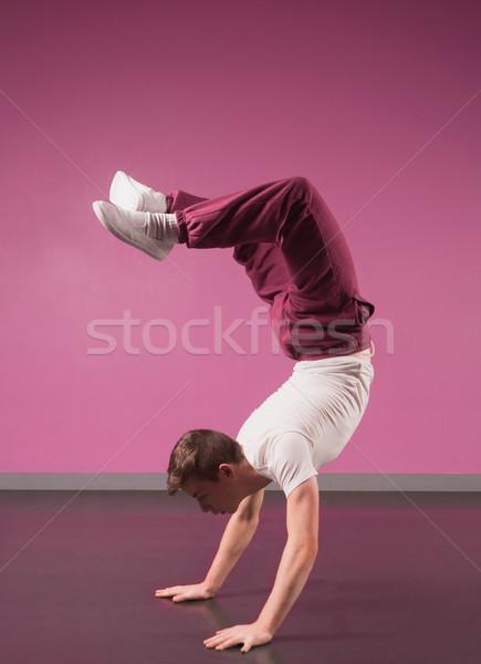 Legal quebrar dançarina dançar estúdio Foto stock © wavebreak_media