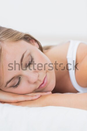 Mooie vrouw massage tabel mooie Stockfoto © wavebreak_media