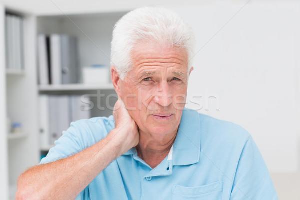 男性 患者 首 肖像 ストックフォト © wavebreak_media