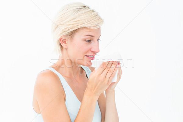 Enfermos femenino virus bastante naturales Foto stock © wavebreak_media