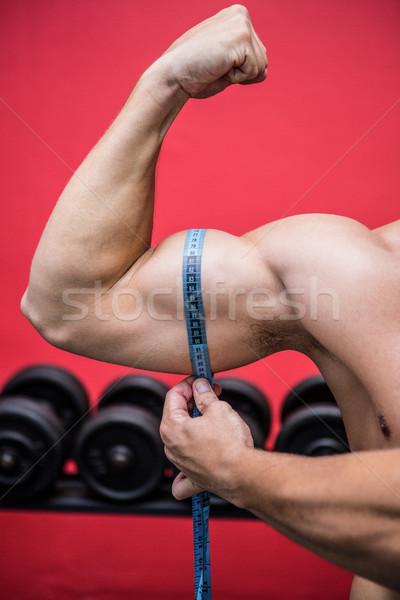 Muscular hombre músculos cuerpo salud Foto stock © wavebreak_media