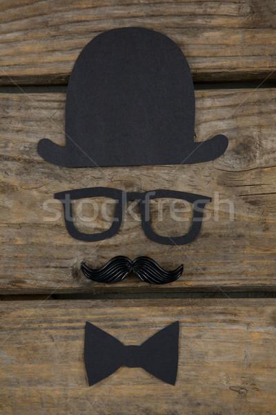 Overhead view of decoration on table Stock photo © wavebreak_media