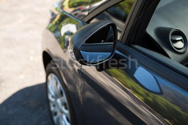 Auto vleugel spiegel model reizen Stockfoto © wavebreak_media