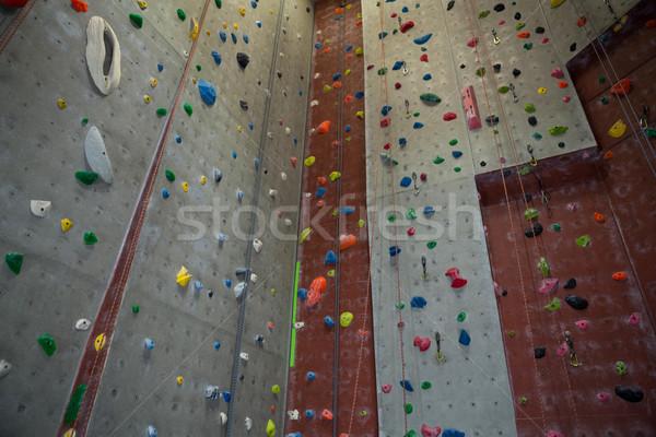 Parede colorido fitness estúdio esportes ginásio Foto stock © wavebreak_media