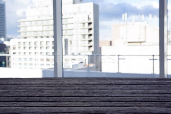 Ver edifício janela Foto stock © wavebreak_media