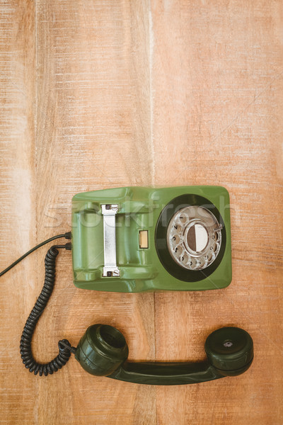 View of an old phone Stock photo © wavebreak_media