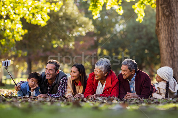 男 幸せな家族 木 公園 ツリー ストックフォト © wavebreak_media