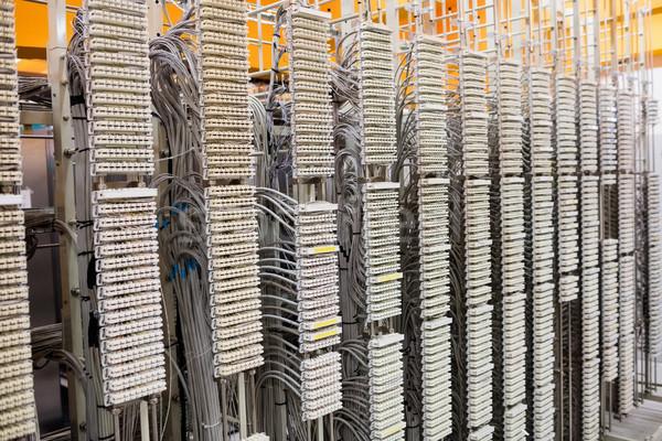 Row of servers rack  Stock photo © wavebreak_media