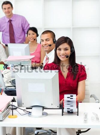 經理 工作 辦公室 業務 商業照片 © wavebreak_media
