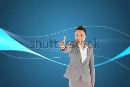Reifen Finger schauen gerade Stock foto © wavebreak_media