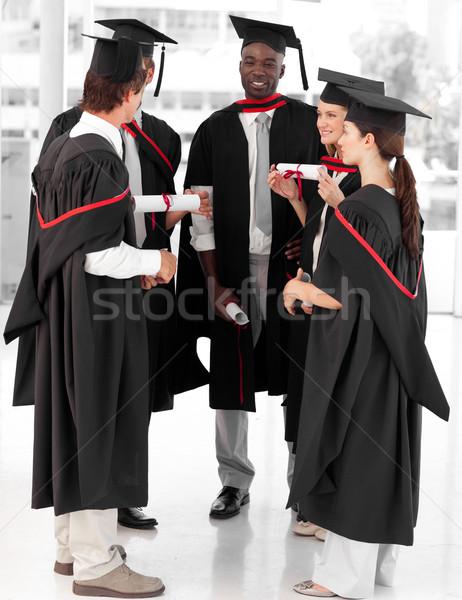グループの人々  祝う 卒業 小さな 男 教育 ストックフォト © wavebreak_media
