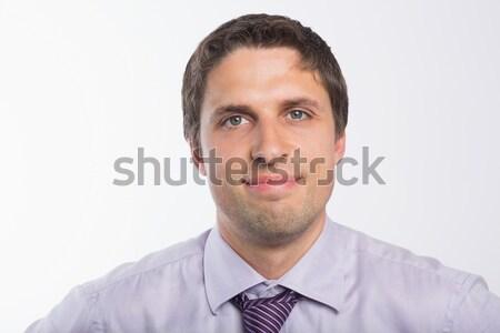 Jungen Geschäftsmann weiß Business Arbeit Stock foto © wavebreak_media