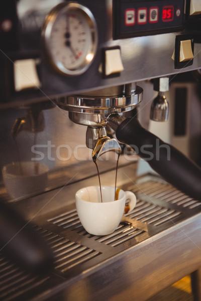 Makine fincan kahve kafe Stok fotoğraf © wavebreak_media