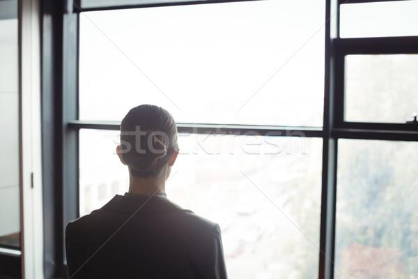 カウンセラー オフィス 背面図 ビジネス 女性 スーツ ストックフォト © wavebreak_media
