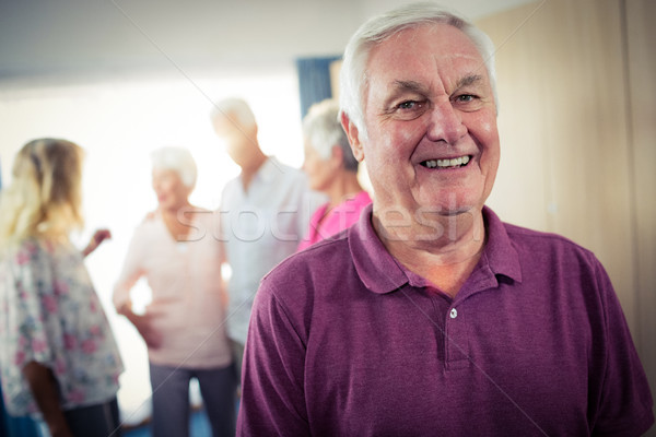 Portrait of a group of seniors Stock photo © wavebreak_media