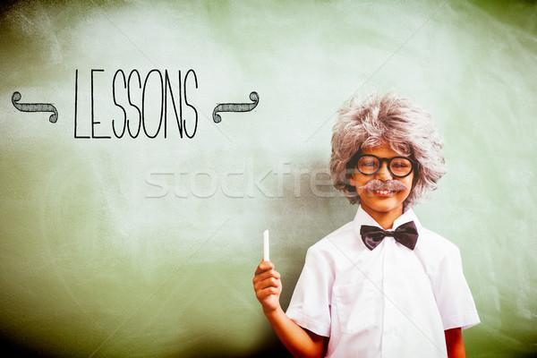 Lecciones nino altos maestro escuela nino Foto stock © wavebreak_media