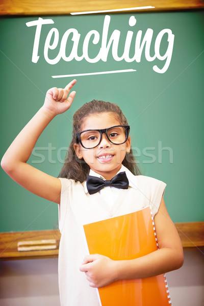 Enseignement cute up enseignants classe main Photo stock © wavebreak_media