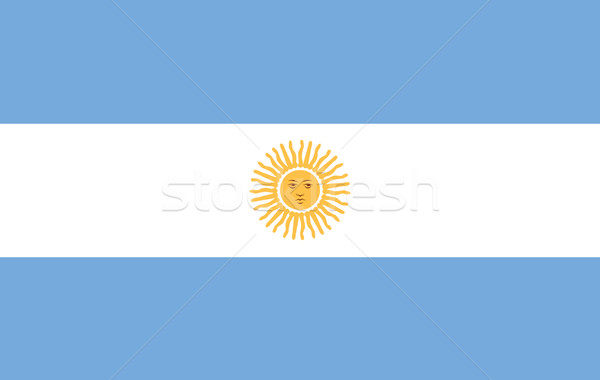 Argentine pavillon Photo stock © wavebreak_media