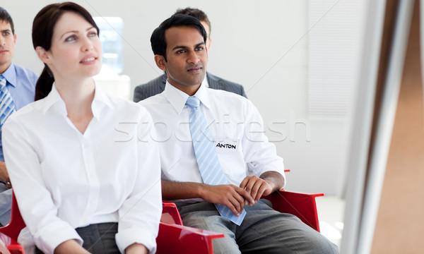 концентрированный деловые люди конференции служба заседание работу Сток-фото © wavebreak_media