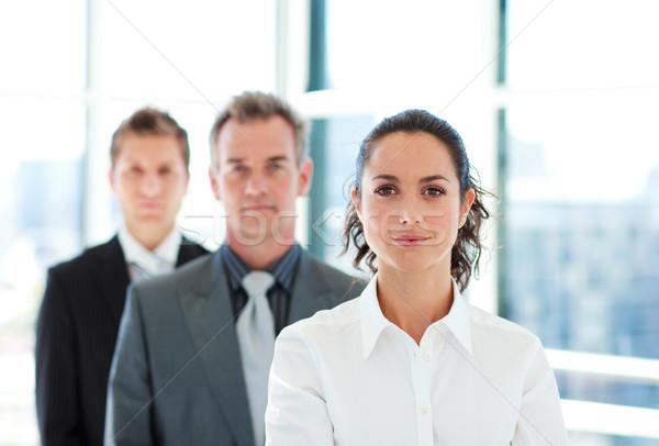 серьезный деловая женщина команда молодые бизнеса служба Сток-фото © wavebreak_media