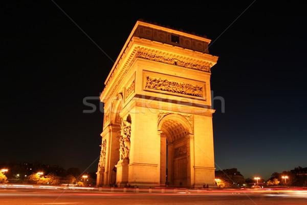 Arc De Triumphe in France Stock photo © wavebreak_media