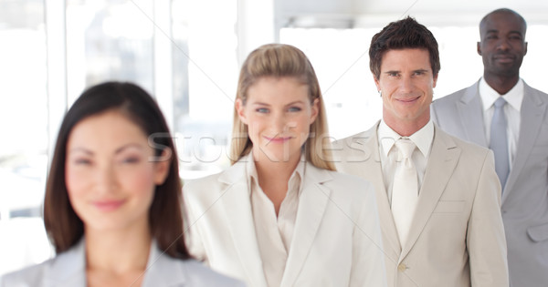 Business-Team Geist Positivität Mann Stock foto © wavebreak_media