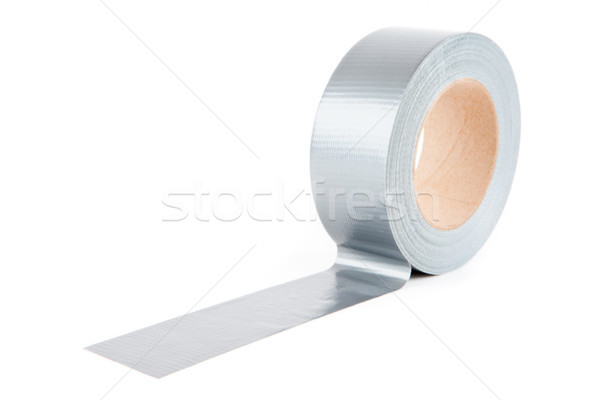 Roll of silver adhesive tape Stock photo © wavebreak_media