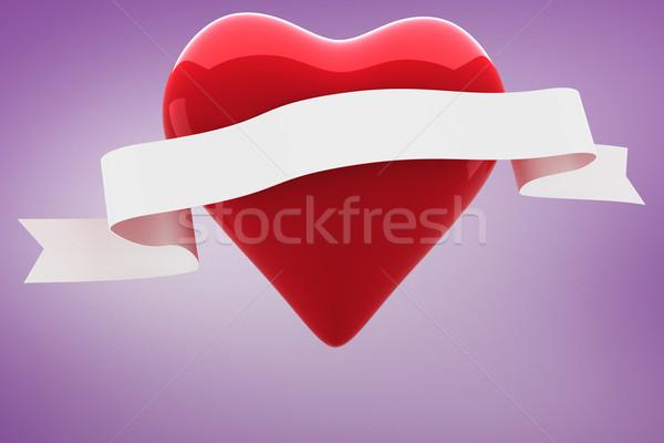 изображение сердце выделите Purple Сток-фото © wavebreak_media